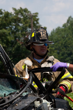 July 15, 2011, Fatal MVC With Entrapment, Pilesgrove Twp. Rt. 45