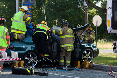 June 20, 2011, Commercial MVC With Entrapment, Upper Deerfield Twp. Cumberland County, South Woodruff Rd. and Lebanon Rd.