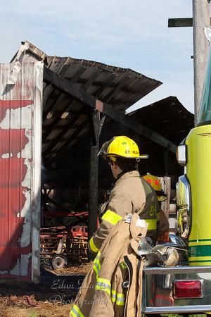 May 06, 2011, Barn Fire, Pilesgrove Twp. Stewart Rd.