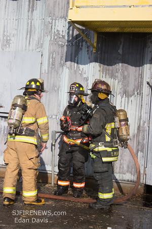 12/15/2013, Upper Deerfield Fire Co. Live Burn Drill