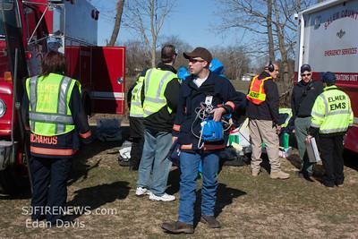 Salem County Hazmat Drill, Elmer, Chestnut St.