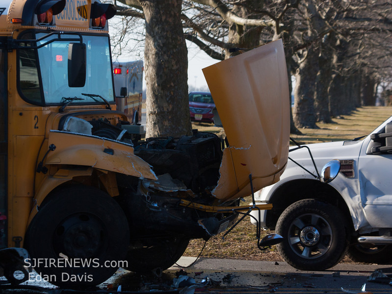 02-12-2013, School Bus MVC, Upper Pittsgrove Twp  Slabtown Rd  and Woodstown Daretown Rd  (C) Edan Davis, www sjfirene (3)