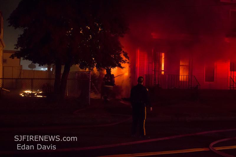 12-06-2013, 2nd Alarm Dwelling, Millville, 16 E Powell St  (C) Edan Davis, www sjfirenews (1)