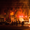 11-29-2014, 2 Alarm Commercial Structure, Vineland City, 1715 S  Delsea Dr  Team Nissan (C) Edan Davis, www sjfirenews com  (3)