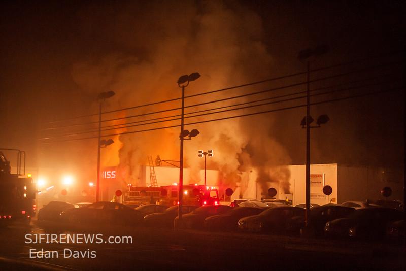 11 29 2014, 2 Alarm Commercial Structure, Vineland City, 1715 S