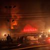 11-29-2014, 2 Alarm Commercial Structure, Vineland City, 1715 S  Delsea Dr  Team Nissan (C) Edan Davis, www sjfirenews com  (9)