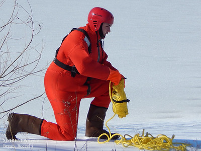02-16-2014 Forest Grove Ice Rescue Drill