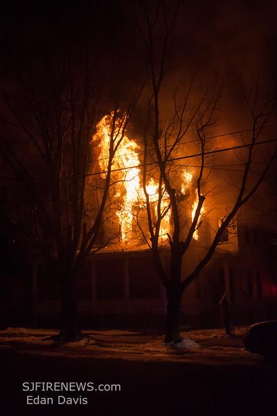03-09-2015, 3 Alarm Dwelling, Millville, 603 E Mulberry St  (C) Edan Davis, www sjfirenews com  (2)