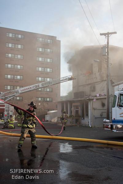 07-29-2015, 4 Alarm Commercial Structure, 19 N  High St  Millville, (C) Edan Davis, www sjfirenews (123)