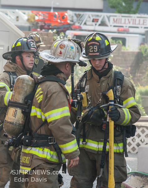07-29-2015, 4 Alarm Commercial Structure, 19 N  High St  Millville, (C) Edan Davis, www sjfirenews (24)