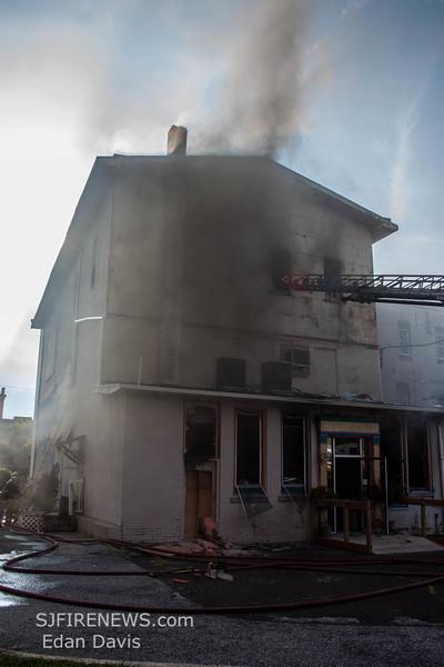 07-29-2015, 4 Alarm Commercial Structure, 19 N  High St  Millville, (C) Edan Davis, www sjfirenews (128)