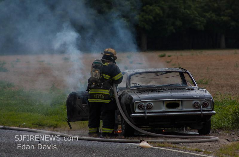 08-09-2015, Vehicle, Vineland, Hance Bridge Rd  (C) Edan Davis, www sjfirenews (8)