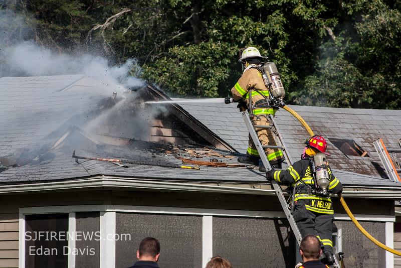 08-23-2015, 2 Alarm Dwelling, Maurice River Twp   5378 Rt  49, (C) Edan Davis, www sjfirenews com  (81)