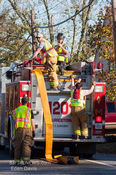 11-08-2015, Large Diameter Hose Drill, Cumberland County NJ, (C) Edan Davis, www sjfirenews (55)