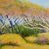"""Fort Fisher Canopy"" (acrylic) by Joy Parks Coats"