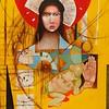 """La Rana"" (acrylic and oil on canvas) by René Alvarado"