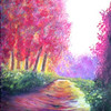 """Warm Spring Morning"" (oil on canvas) by Eldon Case"
