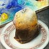 """Teabag & Palette"" (acrylic on canvas) by Ann Marie Fitzsimmons"
