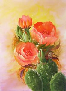 """Desert Springtime"" (oil) by Rebecca Case"