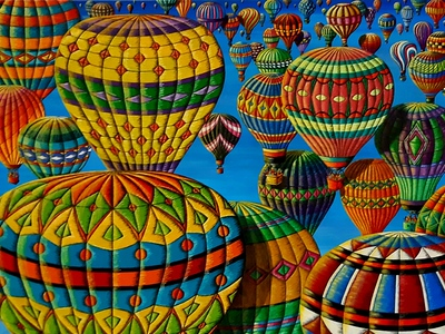 """""""Flying Colours"""" (oil on canvas) by Donna L. Byers"""