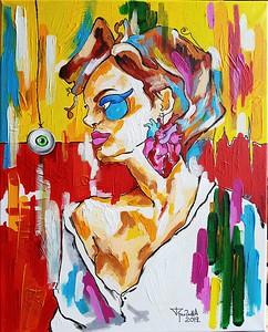 """Unreal"" (acrylic, ink) by Tatjana Gritchina"