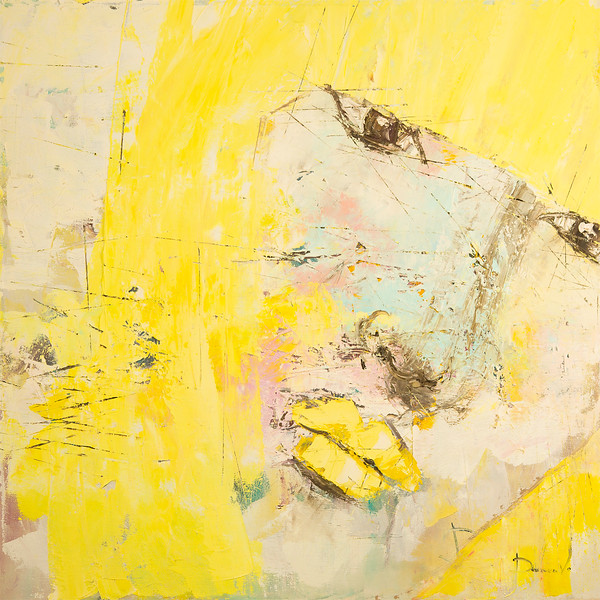"""Yellow deception"" (oil on canvas) by Viktoria Daneva"