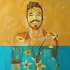 """Joy"" (acrylic) by Laurie Rosenberg"