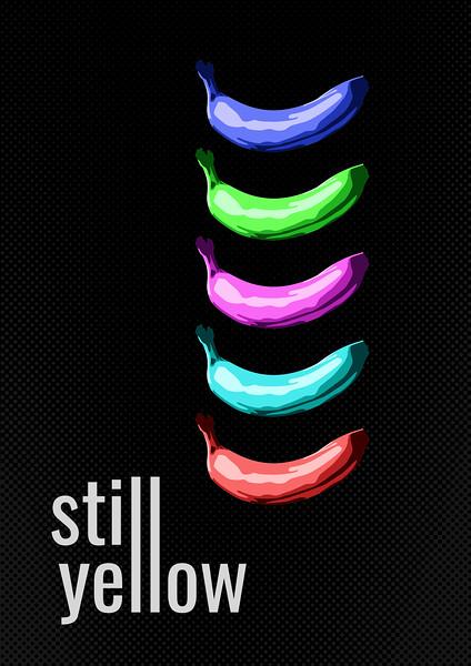 """Still Yellow"" (digital) by Aron En"