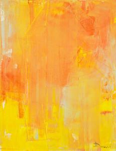 """Yellow dream"" (oil on canvas) by Viktoria Daneva"