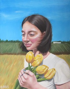 """Midwest Repose"" (oil) by Bernadine Rais"