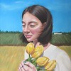 """Midwest Repose"" (oil) by Bernadine Rais"