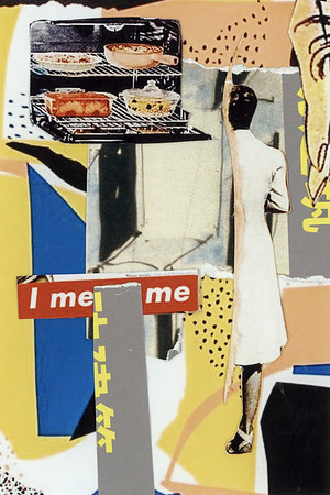 """I mean Me"" (mixed media) by Sam Heydt"