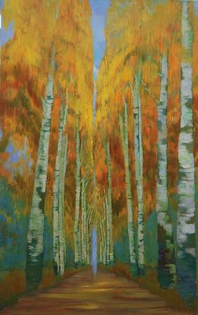 """SEPTEMBRE"" (oil on canvas) by Irina Alaverdova"