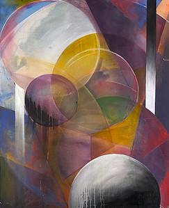 """Transparency"" (acrylic, chalk pastel) by Jenna Girolamo"