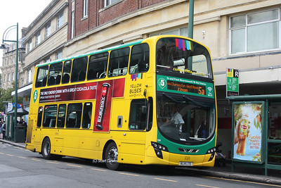 188, BL14LTE, Yellow Buses, Bournemouth Square