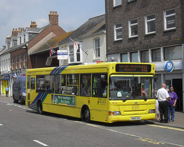 504 - SN55DVH - Christchurch (high street) - 28.7.11
