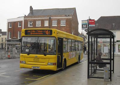 504 - SN55DVH - Wimborne (town centre) - 14.4.12