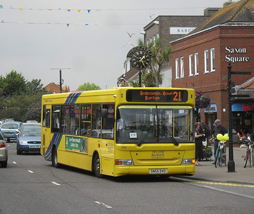 509 - SN55DVO - Christchurch (high street) - 28.7.11