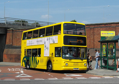 281 - X201UMS - Bournemouth (railway station) - 13.7.13