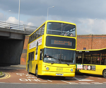281 - X201UMS - Bournemouth (Interchange/rail station) - 4.4.12