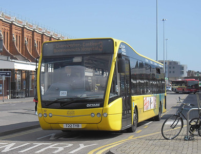 22 - T22TYB - Bournemouth (Interchange/rail station) - 4.4.12