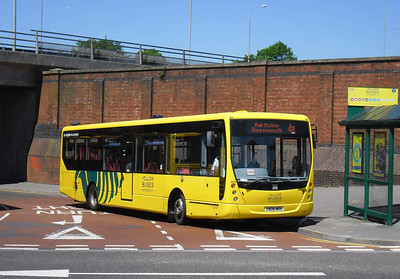 804 - YN08NKH - Bournemouth (rail station) - 27.5.12