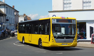 801 - DX57JXS - Christchurch (Bridge St)