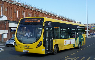 869 - HF14BXA - Bournemouth (railway station)
