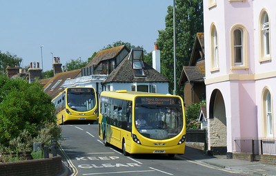 862 - HF14BWP - Christchurch (Bridge St) - 24.7.14