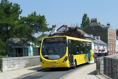 859 - HF14BWM - Christchurch (Castle St) - 24.7.14