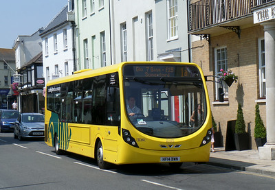 860 - HF14BWN - Christchurch (Castle St) - 24.7.14
