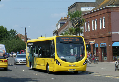 868 - HF14BWZ - Christchurch (High St) - 24.7.14