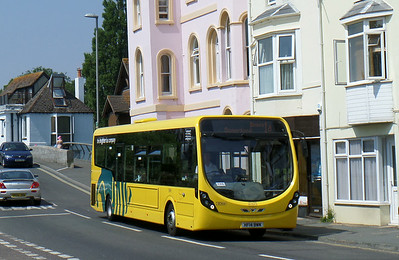 859 - HF14BWM - Christchurch (Bridge St) - 24.7.14
