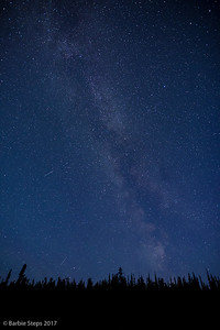 Milky Way before Northern Lights appeared.